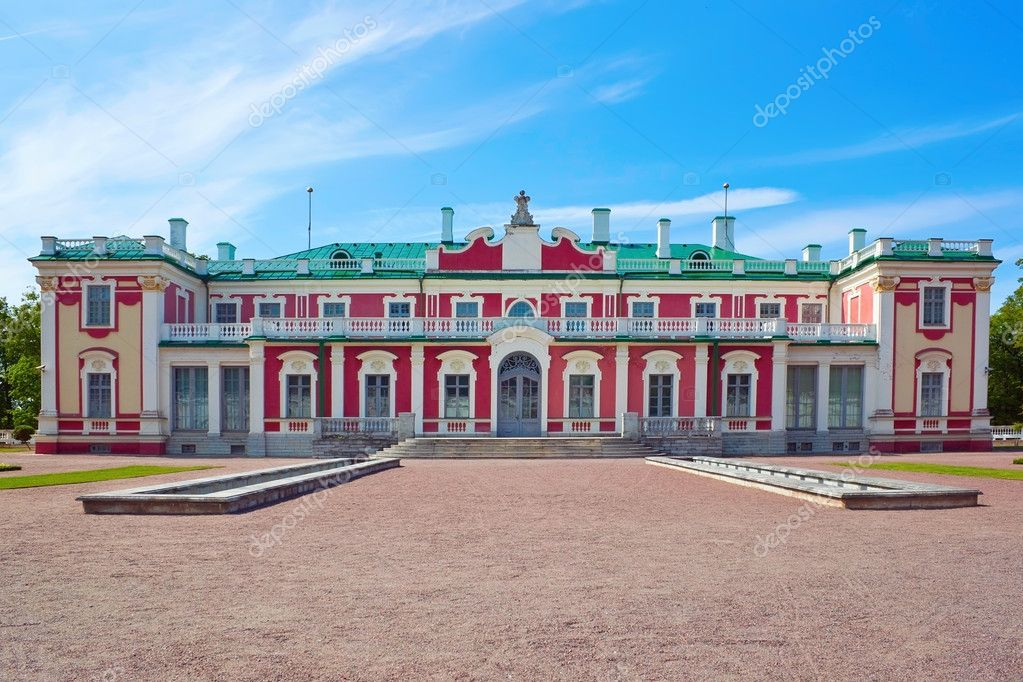 Kadriorg palace in Tallinn city — Stock Photo #11521130