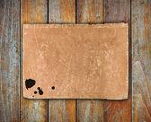 Holz brett wand — Stockfoto