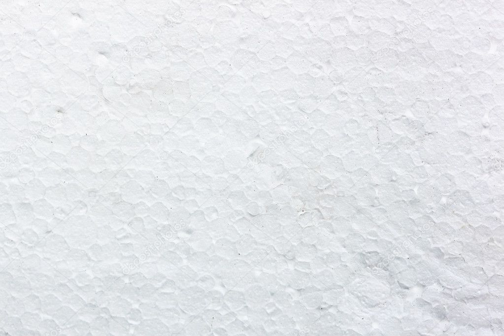 Pattern of the white styrofoam surface  Stock Photo #11810568