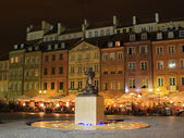 Symbol of Warsaw city — Stock Photo