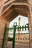 Gate into mosque. — Stock Photo