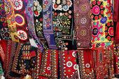 Kerchiefs and woman's wear — Stock Photo