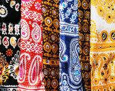 Mouchoirs de tête femelles avec ornement traditionnel — Photo