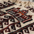 Handmade carpets for muslim prayer. — Stock Photo #10929671
