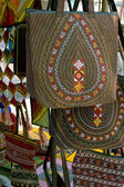 Handmade decorative bags — Stock Photo