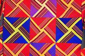 Наволочки ручной работы из национальной ткани. — Стоковое фото