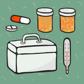 Medicine — Stock Vector