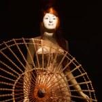 Mannequin at Jean Paul Gaultier exhibition in de Young Museum, S — Stock Photo #12225838