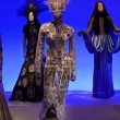 Female  mannequins at Jean Paul Gaultier exhibition — Stock Photo