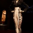 Female mannequin dressed in leggings at Jean Paul Gaultier exhib — Stock Photo #12225891