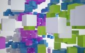 Color abstract architecture — Stock Photo