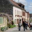 The village of Giverny in Eure — Stock Photo