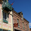 France, hotel Baudy in the village of Giverny — Stock Photo