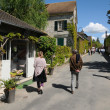 The village of Giverny in Eure — Stockfoto