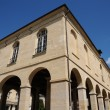 Ile de France, the city hall of La Roche Guyon - Foto de Stock  