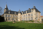 The castle of Themericourt in Val d Oise — Foto de Stock