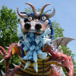 France, terrific dragoon in Les Mureaux carnival — Stock Photo