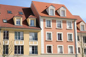 Ile de France, residential block in Vaureal — Stock Photo