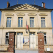 France, the city hall of Themericourt — Stock Photo