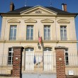 Stock Photo: France, the city hall of Themericourt