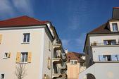 Ile de France, residential block in Vaureal — Stock Photo