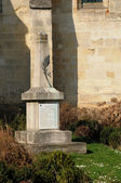 War memorial of Longuesse in Val d Oise — Stock Photo