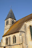 Ile de France, the old church of Longuesse — Stock Photo