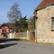 Stock Photo: Village of Fremainville in Val d Oise
