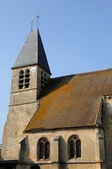 Val d Oise, the old church of Longuesse — ストック写真