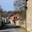 The village of Fremainville in Val d Oise - Stock Photo