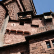 Stock Photo: Chateau du Haut Koenigsbourg in Alsace