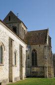 Stary kościół seraincourt — Zdjęcie stockowe