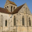 The old church of Seraincourt in Ile de France — Stock Photo