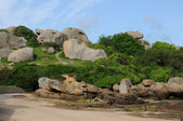 Brittany, the village of La Clarte in Perros Guirec — Stockfoto