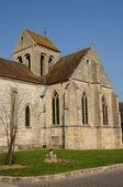 The old church of Seraincourt in Ile de France — Stock Photo
