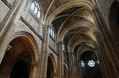 France, collegiate church of Poissy in Les Yvelines — Stock Photo