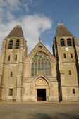 France, the collegiate church of Ecouis in l Eure — Stock Photo