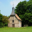 Normandie, la Chapelle de l Essart Mador in Lyons la Foret - Stock Photo