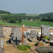 Normandie, the cemetery of touffreville  in Haute Normandie — Foto Stock