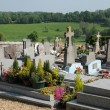 Stock Photo: Normandie, cemetery of touffreville in Haute Normandie