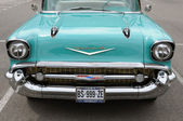 Close up of a fifties Chevrolet — Стоковое фото