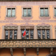France, city hall of  Obernai in Alsace — Stock Photo