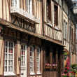France, the old village of  Lyons la Foret — Stock Photo