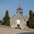 France, the church of Lyons la Foret in l Eure — Stock Photo