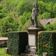 The war memorial of Murbach in Alsace — Stock Photo