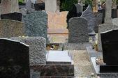 O cemitério de obernai da alsácia, frança — Foto Stock