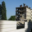 Royalty-Free Stock Photo: France, demolition of an old building in Les mureaux