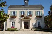 Ile de France, the city hall of Thoiry — Stock Photo