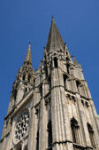 France, the cathedral of Chartres in Eure et Loir — Stock Photo