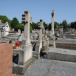 Stock Photo: France, cemetery of Evecquemont in les Yvelines